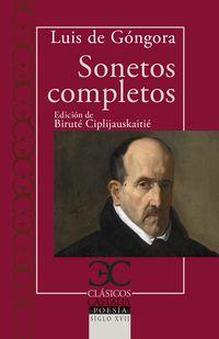 SONETOS COMPLETOS (LUIS DE GONGORA)