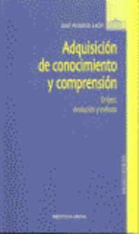 ADQUISICION DE CONOCIMIENTO Y COMPRENSION
