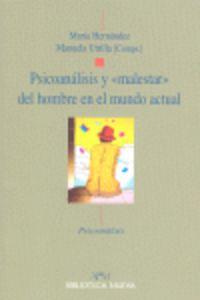 PSICOANALISIS Y MALESTAR DEL HOMBRE EN EL MUNDO ACTUAL