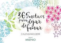 CALENDARIO 2019 - 365 MOTIVOS PARA DEJAR DE FUMAR