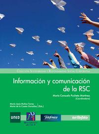 Informacion Y Comunicacion De La Rsc - Maria C. Pucheta Martinez