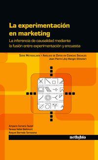 La experimentacion en marketing - Aa. Vv.