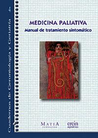 MEDICINA PALIATIVA - MANUAL DE TRATAMIENTO SINTOMATICO