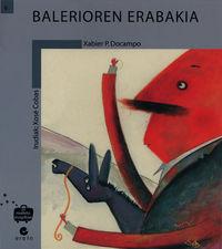Balerioren Erabakia - Xabier P. Docampo