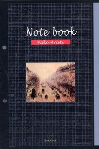Note Book - Pako Aristi
