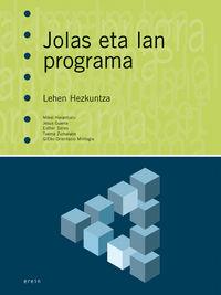 LH - JOLAS ETA LAN PROGRAMA (PACK)