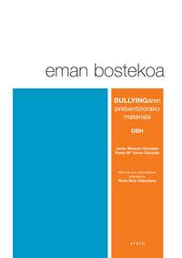 DBH - EMAN BOSTEKOA - BULLYINGAREN PREBENTZIORAKO MATERIALA