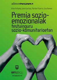 PREMIA SOZIO-EMOZIONALAK TESTUINGURU SOZIO-KOMUNITARIOETAN