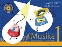 LH 1 - MUSIKA - KANTU KONTARI (+KOAD. ) (+CD)