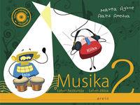 LH 2 - MUSIKA - KANTU KONTARI (+KOAD. ) (+CD)
