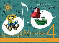 LH 4 - MUSIKA (+KOAD. ) (+CD)