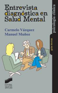 Entrevista Diagnostica En Salud Mental - Carmelo Vazquez