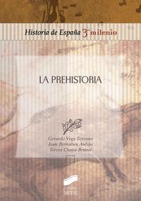 La prehistoria - Luis Gerardo Vega Toscano / Joan Bernabeu / Teresa Chapa Brunet
