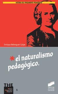 El naturalismo pedagogico - Enrique Belenguer Calpe