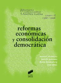 Reformas Economicas Y Consolidacion Democratica - Manuel Alcantara