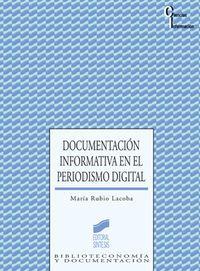 DOCUMENTACION INFORMATIVA PERIODISMO DIGITAL