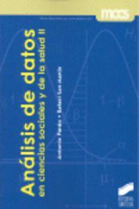 Analisis De Datos En Ciencias Sociales Y De La Salud Ii - Antonio Pardo