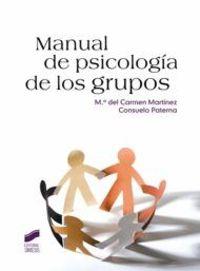 MANUAL DE PSICOLOGIA DE LOS GRUPOS