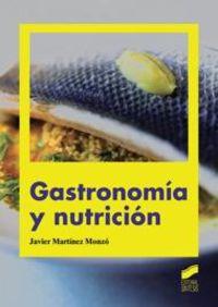 GS - GASTRONOMIA Y NUTRICION