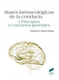 BASES FARMACOLOGICAS DE LA CONDUCTA I