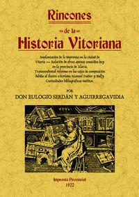 RINCONES DE LA HISTORIA VITORIANA