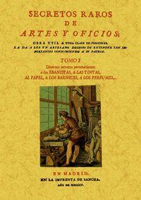 SECRETOS RAROS DE ARTES Y OFICIOS IX