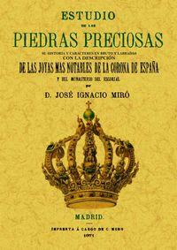 ESTUDIO DE LAS PIEDRAS PRECIOSAS