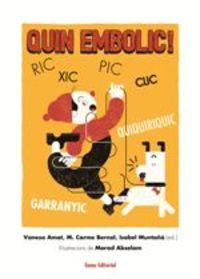 Quin Embolic! - Vanesa Amat Castells / M. Carme Bernal Creus / Isabel Muntaña Salarich
