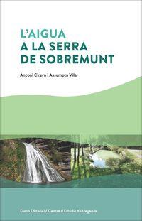 L'AIGUA A LA SERRA DE SOBREMUNT