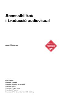 ACCESSIBILITAT I TRADUCCIO AUDIOVISUAL