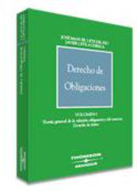 Derecho De Obligaciones I - J. Manuel Lete Del Rio
