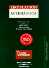LEGISLACION ECLESIASTICA (2005)