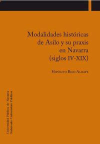 MODALIDADES HISTORICAS DE ASILO Y SU PRAXIS EN NAVARRA