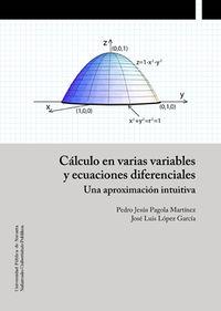 Calculo En Varias Variables Y Ecuaciones Diferenciales - Una Aproximacion Intuitiva - Pedro Jesus Pagola Martinez / Jose Luis Lopez Garcia