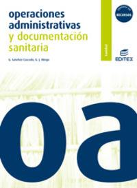 Gm - Operaciones Administrativas Y Doc. Sanitaria - Aa. Vv.