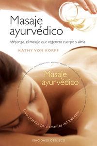 MASAJE AYURVEDICO (+DVD)