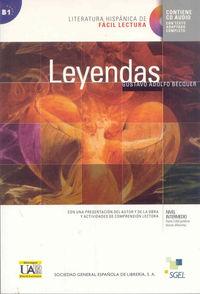 Leyendas - Facil Lectura (+cd) - Gustavo Adolfo Becquer