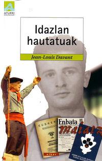 IDAZLAN HAUTATUAK - JEAN-LOUIS DAVANT