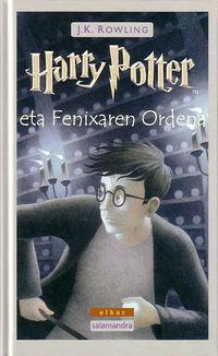 Harry Potter Eta Fenixaren Ordena - J. K. Rowling