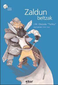 "Zaldun Beltzak - J. M.  Olaizola ""txiliku""  /  Eider  Eibar"