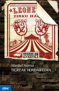 tigreak hondartzan - Maribel Aiertza Rementeria