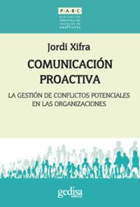 Comunicacion Proactiva - Jordi Xifra