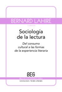 Sociologia De La Lectura - Lahire Bernard