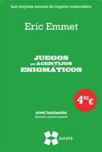 JUEGOS DE ACERTIJOS ENIGMATICOS