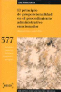 Principio De Proporcionalidad En El Procemiento Administrativo - Aa. Vv.