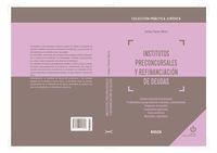 Institutos Preconcursales Y Refinanciacion De Deudas - Carlos Pavon Neira