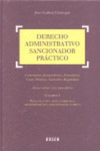 (2 Vols. )  Derecho Administrativo Sancionador Practico - Jose Garberi Llobregat