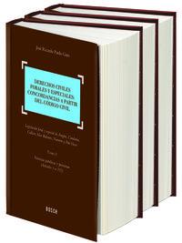 Derechos Civiles Forales Y Especiales (3 Vols. ) - Jose Ricardo Pardo Gato