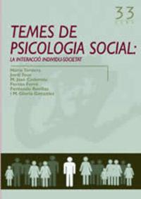 TEMES DE PSICOLOGIA SOCIAL