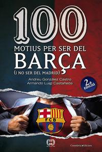 100 MOTIUS PER SER DEL BARCA I NO SER DEL MADRID